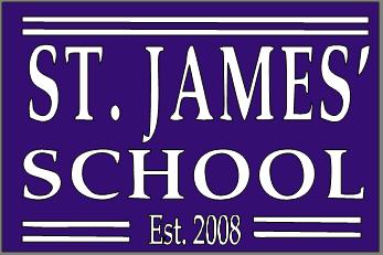 St. James' School Logo