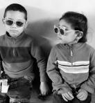 Honduras Children BW Photo