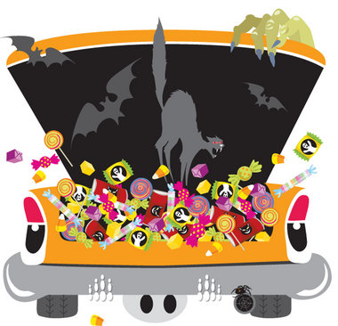 Trunk or Treat Artwork 2018